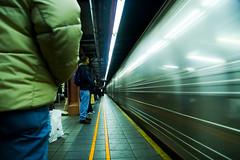 potential passengers (Ali Brohi) Tags: nyc newyorkcity music 20d train underground subway square platform passengers motionblur herald seedingchaos moazzambrohicom httpwwwmoazzambrohicom wwwmoazzambrohicom