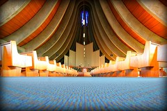 Modern Church Architecture Circa 1963 (CSC - Chistopher Scott) Tags: church architecture amazing stockton sixties stocktonca skyarchitecture flickawardr