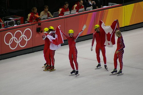 Canadian Men win Silver in Relay