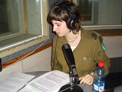 Tamar working seriously on the Hood special (reutC) Tags: radio army idf glglz