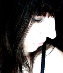 just my imagination (joablack) Tags: portrait woman selfportrait eye me girl contrast self hair nose lashes makeup v top20selfportraits vea vforvea byvea byveave byveaavernalis joablack byjoablack