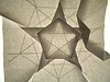 Pentagonal Stars With Negative Space