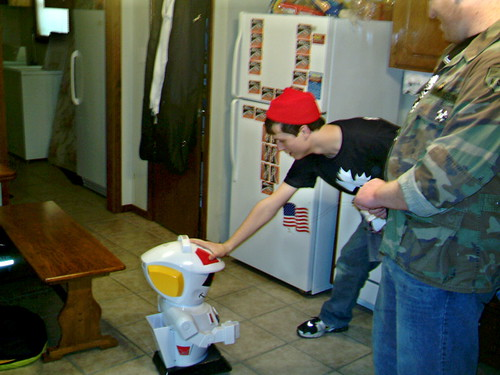 Our Robot Friend