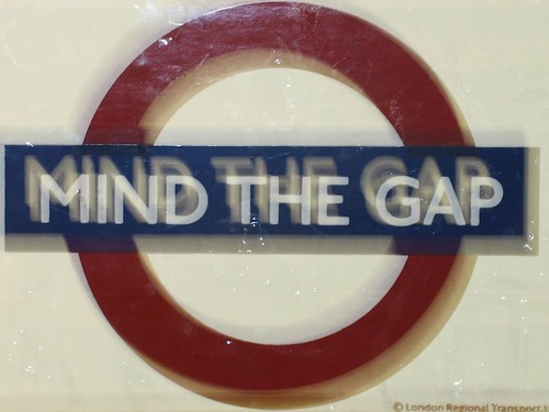 MIND THE GAP by nikoretro, on Flickr