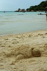DSC_3925.JPG sand turtle Ao Chalok Baan Khao