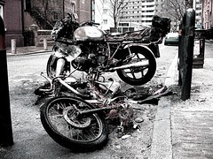 why the fuck...? (LuisDS) Tags: fuck favoritas bastards arson whatthefuck mortorcycle utatafeature luisds