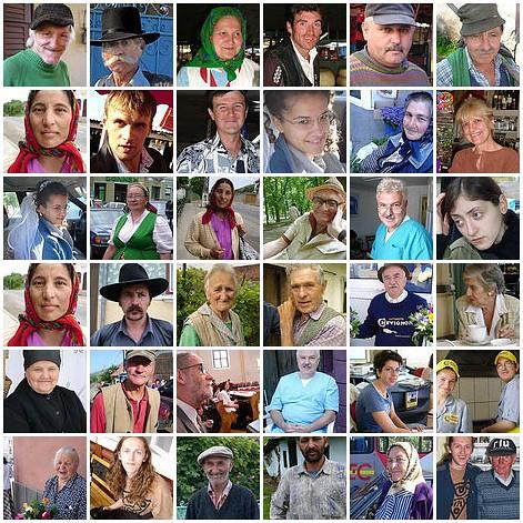 portraits fdsflickrtoys collages transylvania mozaic