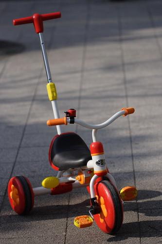 三輪車│乗り物│無料写真素材