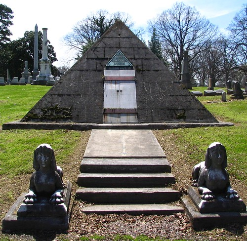 Pyramid Gravesite for an Eccentric Man