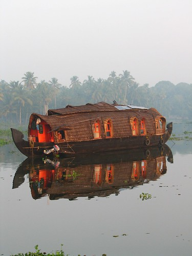 Houseboat at Dawn