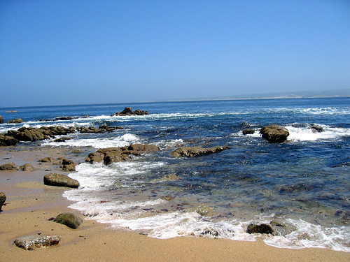 Good Sea Glass Beach - Northern California - Cannery Row Beach