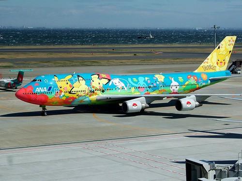 Pokemon Jet (Ohana Jumbo) [Left view]