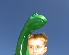 Dino #1 (mindpotter) Tags: blue sky dinosaur elijah notpicked scoreme38
