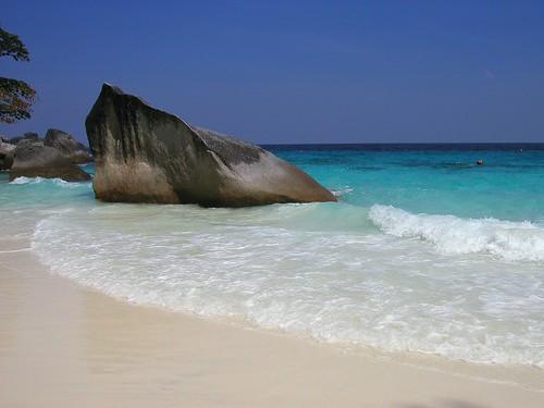 Playas de las islas Similan Tailandia