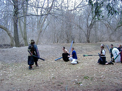 (mornathedark) Tags: militia larp dagorhir foamfighting