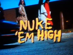 "Tonight's Netflix:  ""NUKE 'EM HIGH""!!!!!!! (spike55151) Tags: sexy tower film sex trash radio movie crazy"