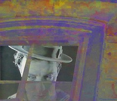 hey buster! watchu lookin at? (eclectio) Tags: collage busterkeaton eclectio painterz
