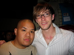 Me with Ryan Kienle of Matchbook Romance. (EriQ.) Tags: arizona concert tucson rialtotheatre matchbookromance takeaction takeactiontour