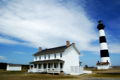 Bodie Island Lighthouse (tearapen73) Tags: sky lighthouse clouds searchthebest lookatme bodieisland