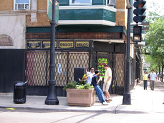 broadway brynmawr-transition (pjchmiel) Tags: chicago broadway uptown storewindow streetscape edgewater dereliction brynmawr vanishingchicago stoyasdrugstore