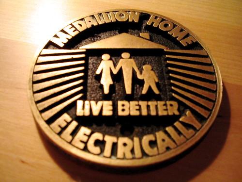 vintage retro 1950s electricity