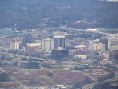 Chattanooga Skyline from Lookout Mountain
