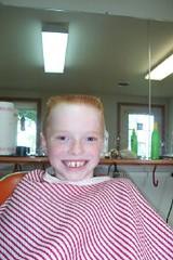 spencer_aft.0002 (haircutsz) Tags: school boy summer haircut buzz kid tears cut crew barber cry stubble nape