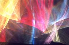 Curtains of Light (Reciprocity) Tags: light film glass 35mm interestingness nikon experimental colours refraction lensless caustic photogram nikomat nikkormat lightart printscan experimentalphotography reciprocity superia400asa refractograph