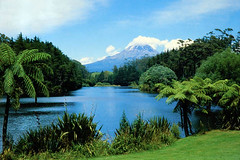 Mount Egmont, New Zealand (azmuskoka) Tags: travel newzealand volcano slides 1980 specland