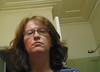 Bathroom selfportrait, with headcold (Helen Morgan) Tags: selfportrait cold me bathroom helen tired late mirrorportrait flushed bathroomportrait unsymmetrical feelingpoorly