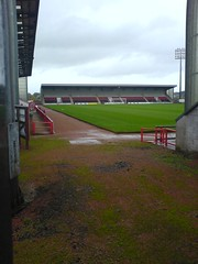 New Broomfield, Airdrie. North Stand (tcbuzz) Tags: club scotland football stadiums united scottish excelsior broomfield airdrie shyberry airdrieonians