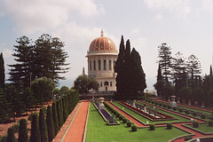haifa (Bahai gardens) (_tonidelong) Tags: travel gardens israel bahai haifa