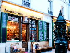 Old English Bookshop in Paris