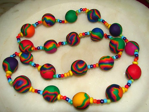 Fimo necklace (by Loca....)