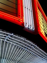 neon. (D.James | Darren J. Ryan) Tags: blue atlanta light red urban copyright usa white darren yellow architecture night georgia photography lights james j photo blog theater neon photographer ryan d stock architectural technorati savannah djames allrightsreserved scad wii darrenryan wwwdarrenjryancom wwwstudiobydjamescom darrenjryan wwwdarrenryanphotographycom