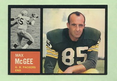 Picture of Max McGee Football Card