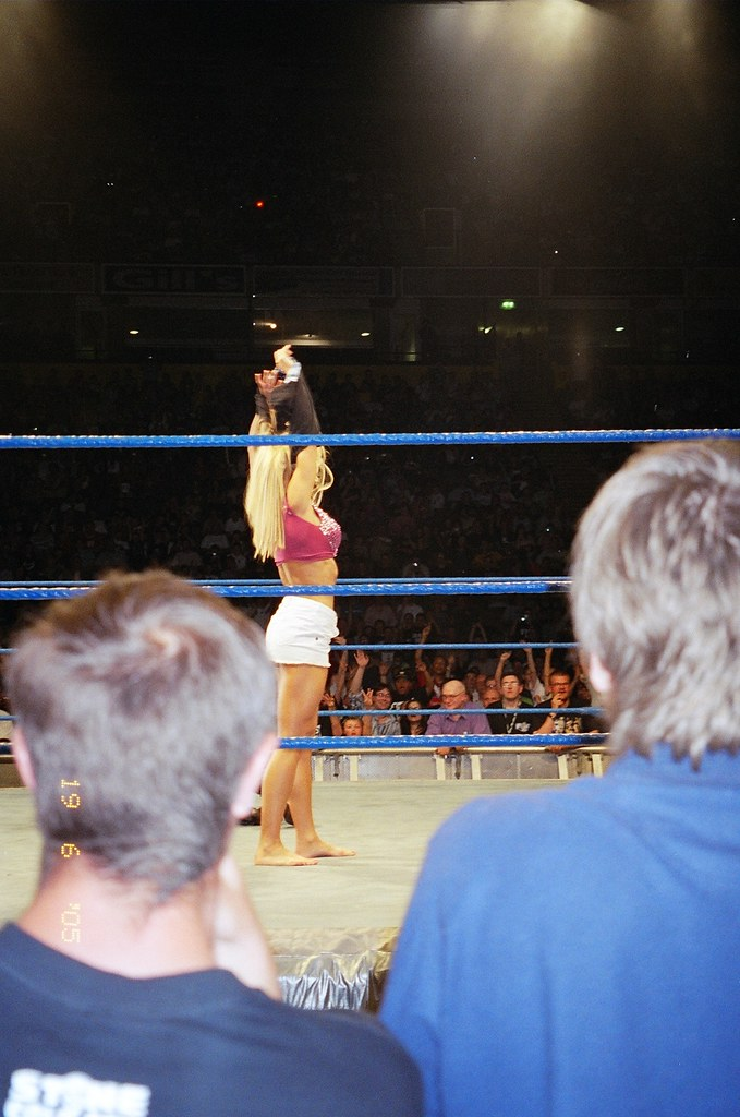 torrie taking it off (dx22) Tags: 2005 england hot sexy men manchester  wrestling