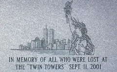 In Memory of Those Lost (FOTOGRAFIA.Nelo.Esteves) Tags: usa monument beautiful america us newjersey amazing nice memorial unitedstates manhattan awesome worldtradecenter nj landmark patriotic super 2006 twintowers wtc monmouthcounty statueofliberty hazlet westkeansburg 911memorial hazlettownship views300 dimagex1 neloesteves amatokarateandweaponsacademy knoicaminolta inmemoryofthoselost zip07730