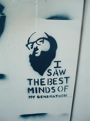 Boulder Graffiti: Allen Ginsberg