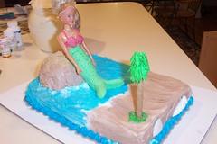 Mermaid Birthday Cake (Fingers In The Frosting) Tags: ocean birthday party beach cake island happy sweet sugar vanilla mermaid frosting fondant buttercream