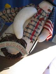 Goat bless America