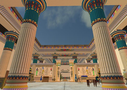 Architecture and Culture of Ancient Egypt Recreated in Second Life