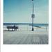 Polaroid SX 70 - On the Beach by lemonice photos