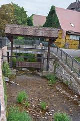 2012.09.03.065 RIBEAUVILLE - La Strenbach (alainmichot93 (Bonjour à tous - Hello everyone)) Tags: 2012 france alsace hautrhin ribeauville architecture rivière eau water pont bridge