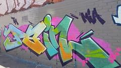 Puke: 'Pain'... (colourourcity) Tags: streetartaustralia streetart graffiti melbourne burncity colourourcity awesome nofilters letters alphabet monsters alphabetmosnters wildstyle puke pkew pain mia tm bunsen burners bigburners iloveletters colourourcityletters