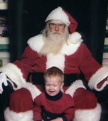 Scary Santa (RaGardner4) Tags: santa christmas boy 510fav beard scary funny child crying 200 santaclause cry scared clause interestingness216 i500