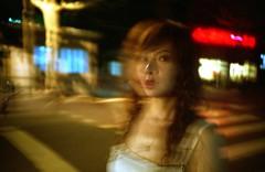 Shanghai Blurr (TommyOshima) Tags: china angel lomo lca shanghai agfa ultra foxatlarge