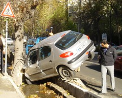 Car Crash 4 (eshare) Tags: cars persian driving iran 206 persia accidents iranian tehran peugeot iranians teheran collision persians تهران photofaceoffwinner pfogold