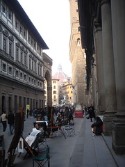 Florence - Uffizi Courtyard 1 (whytynge) Tags: italy florence uffizi tuscany