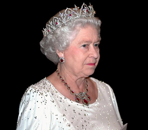 queen elizabeth 2nd crown. Queen Elizabeth II by TheMarkR